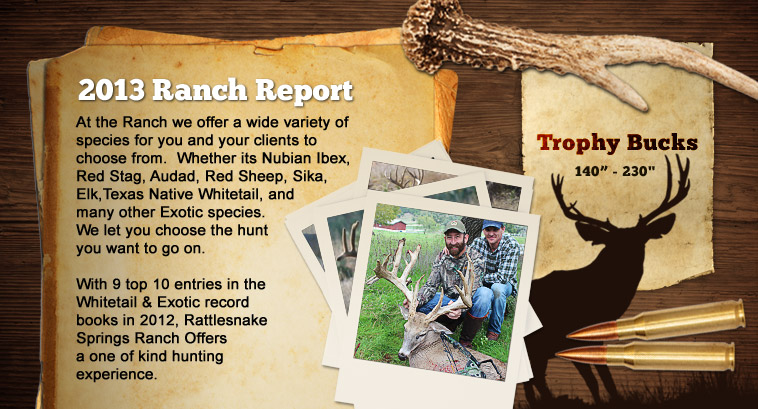 ranch report